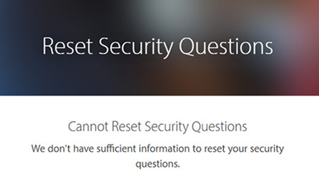 [Solved]How to Change Apple Security Questions