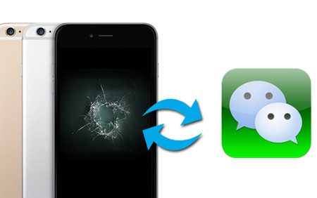 How to Recover WeChat Chat History from Broken iPhone