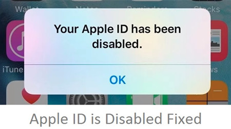 Apple ID is Disabled? Here is the Solution