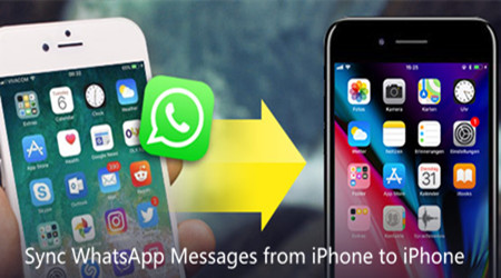 Methods to Sync WhatsApp Messages from iPhone to iPhone