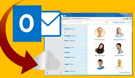 Export Contacts from iCloud to Outlook