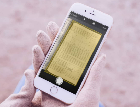 Recover iPhone Scanned Documents on Notes