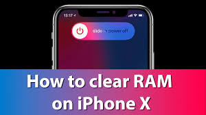 Clear RAM Memory on iPhone iPad